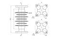 Изоляторы опорные полимерные типа ОСК 10-20-А-2, ОСК 20-20-А-2 на напряжение 20 кВ