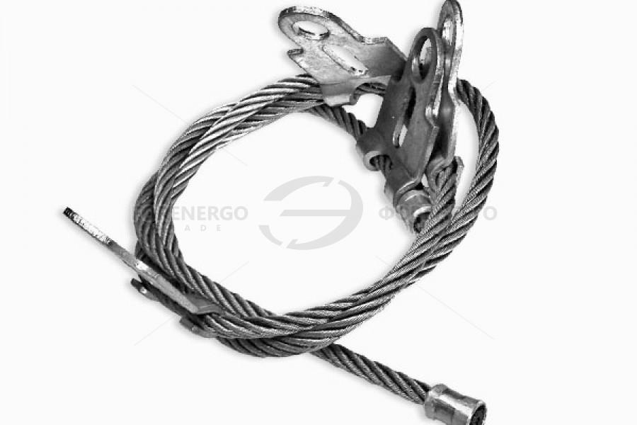 Cпециальные гибкие заземляющие проводники типа  ЗП1М и ЗП2М