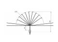 Устройство защиты птиц отпоражения электрическим током на ВЛ  антипосадочного  типа ЗПК-1